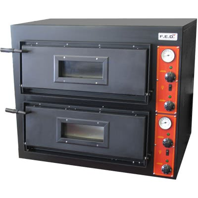 EP-2 – Germany's Black Panther Pizza Deck Oven – 415V; 3~N; 8.4kW; 12A