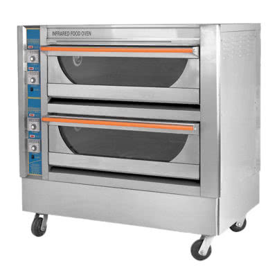 GU-4 Infrared High Performance Double Deck Oven