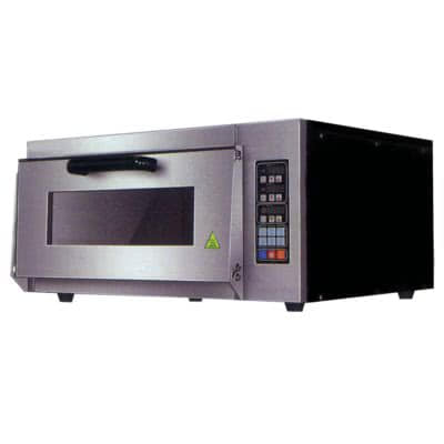 Electric Pizza Oven Single Layer Deck Computer Version – TEP-1AKW – 2.5kW;240V;10A