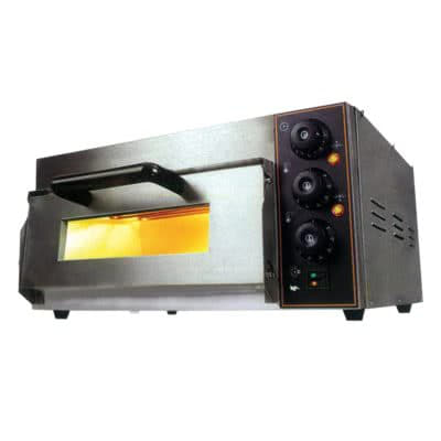 Electric Pizza Oven Single Deck  – TEP-1SKW – 2kW;240V;10A