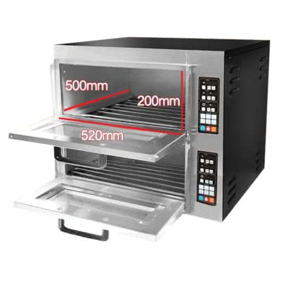 Digital Electric Pizza Oven Double Deck  – TEP-2AKW