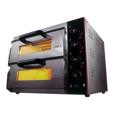 Electric Pizza Oven Double Deck – TEP-2SKW – 3kW;240V;15A