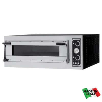 TP-2-1 Pizza Ovens Single Deck – 400V; 3~N; 6.9kW – Pizza Capacity: 6 x 30cm or 4 x 40cm