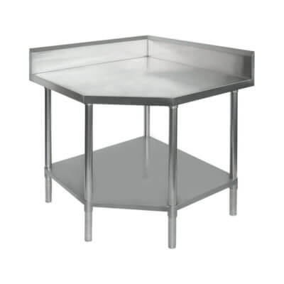 0900-7-WBCB/H – Corner Workbench with 100mm Splashback, 900x900x900mm