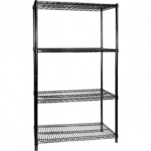 B24/60 Four Tier Shelving – 610 mm deep x 1880 high x 1525 width