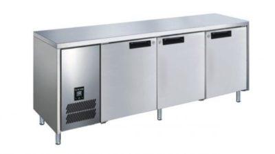 GLACIAN – Slimline 660mm Deep 1 Door S/S Under bench Fridge