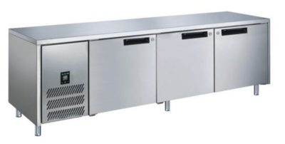 GLACIAN – 760mm Deep 2 Door S/S Under bench Fridge