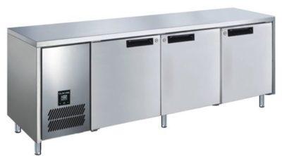 GLACIAN – Slimline 660mm Deep 1 Door S/S Under bench Freezer