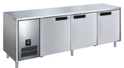 Glacian BFS61885 Slimline 660mm Deep 3 Door S/S Under bench Freezer