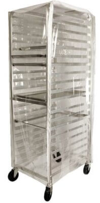 Clear PVC Food Trolley Cover