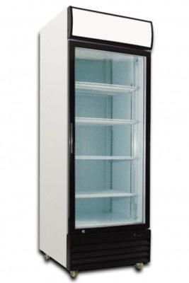 Single Glass Door Fridge 380 Litre