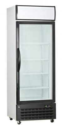 Single Glass Door Freezer 315 Litre