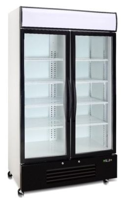 Double Glass Door Freezer 726 Litre