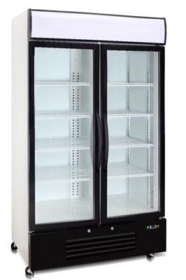 Double Glass Door Freezer 726 Litre
