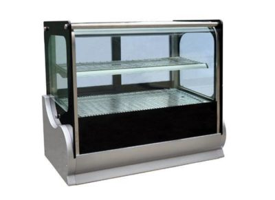 Hot Square Countertop Showcase 900mm (140lt)