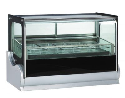 Countertop Showcase Freezer – Fits 4 x 1/3 size GN pans