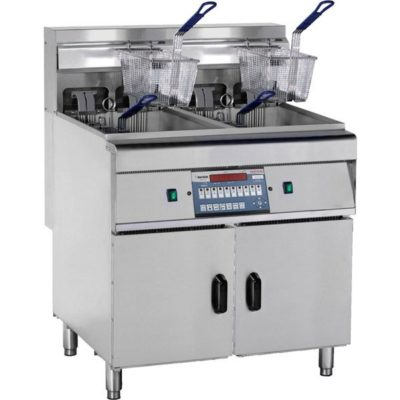 DZL-28-2 – COMPUTERISED ELECTRIC FRYER with COLD ZONE
