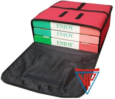 Economy Pizza Delivery Bag E-404015 Fits: 3 x 15inch Boxes