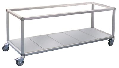 Roband Trolley Food Bar and Bain Marie, 8 x 1/2 pans size