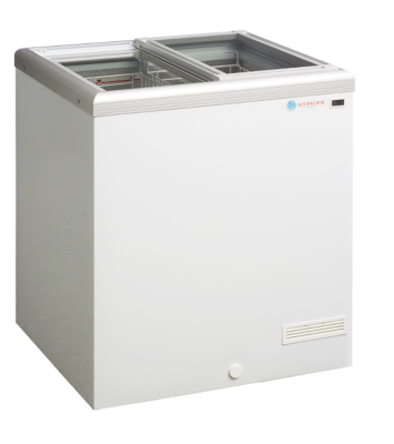 Flat Top Display Freezer – 188 Litres