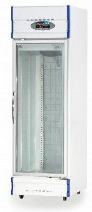 Single Glass Door Upright Display Freezer – 520Lt