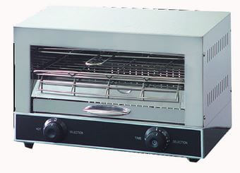 Single infrared quartz element salamander griller toaster and timer – QT-1 – 1.7kW, 10A