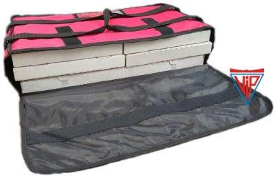 Slab Pizza Delivery Bag Fits: 3 x Slab Pizza Boxes up to 33×66 cm