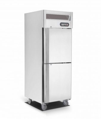 Upright Single Split Door S/S Fridge