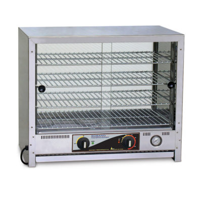 Roband Pie and Food Warmer 100 pies, doors both sides