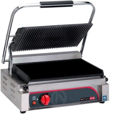 Panini Press – Single (flat top / flat bottom) – 240v; 2.2kw