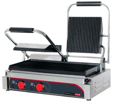 Panini Press – Double (flat top / flat bottom)
