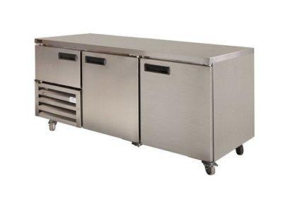 Stainless Steel Under Bar (2 1/2 St/Steel Doors) 1800mm – 610lt
