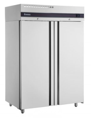 Inomak UFI1140SL Slimline Solid Upright Double Chiller