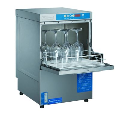 Asgood Underbench Glass washer with auto drain pump & detergent pump – UCD-400