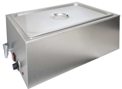 ZCK165BT-1 Benchtop Heated Bain Marie – With 150 mm 1/1 Pan & Lid