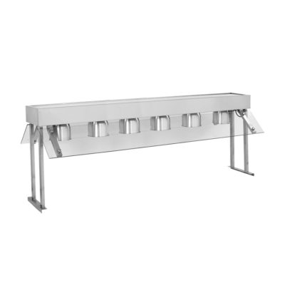 BBT6 Six Buffet Bench Top Lamp Warmers