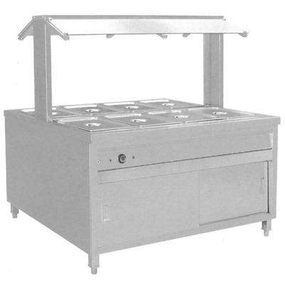 BS8H Heated Buffet Bain Marie Centre Servery