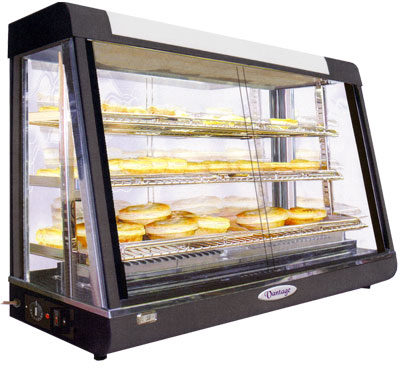 Pie Warmer & Hot Food Display – PW-RT/1200/1