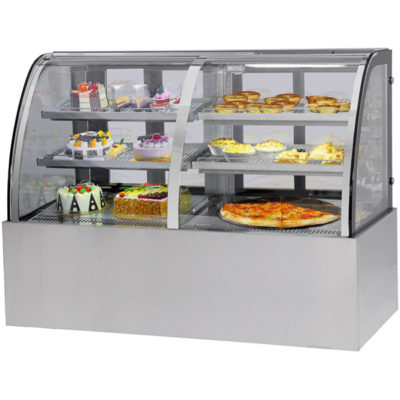 CG150FA/FE-2XB 'CG' Dual Chilled & Heated Display Cabinet