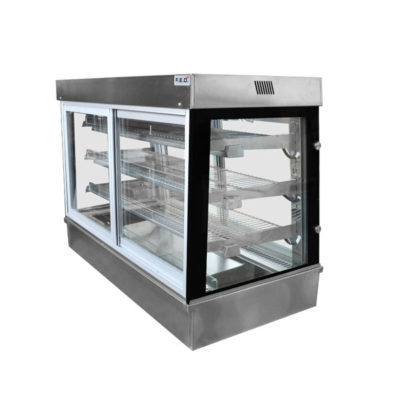 SCHT9 Bonvue Square Drop-in Heated Display Cabinets SC Series