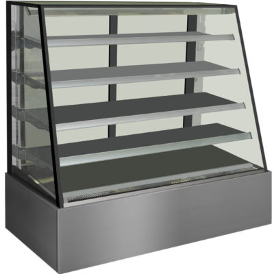 H-SLP830C Venezia Heated Display Cabinet 900x800x1350