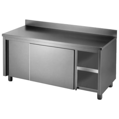 DTHT-1800B-H Kitchen Tidy Workbench Cabinet with Splashback