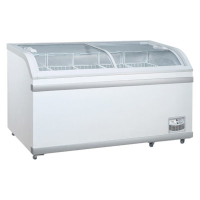 WD-700 Sliding Glass Lid Chest Freezer 700 Litre