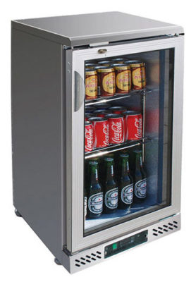 SC148SG single door SS Drink Cooler