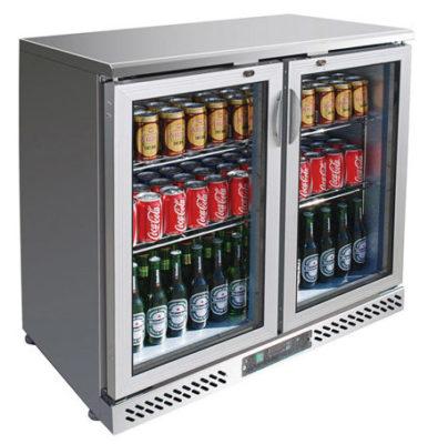 SC248SG Two Door SS Drink Cooler