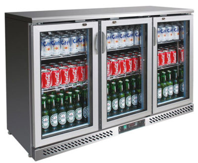 SC316SG Three Door Ss Drink Cooler