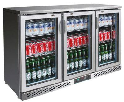 SC316SG Three Door Ss Drink Cooler