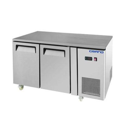 GTR2100B – GRAND True Quality 2 Door Gastronorm Work Bench Fridge
