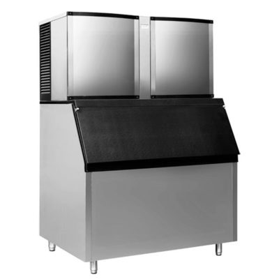 SK-1500P Air-Cooled Blizzard Ice Maker 675kg output/24h