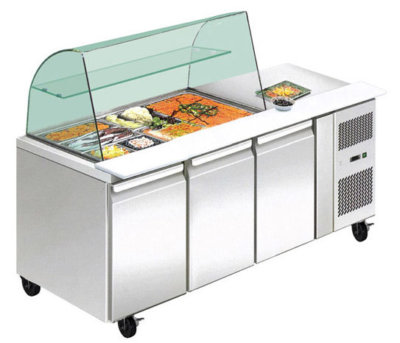 THP3100SALGC three door DELUXE Salad Bar
